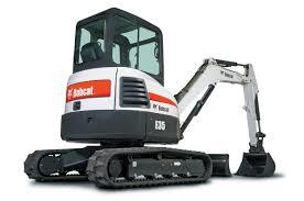 Where to find EXCAVATOR BOBCAT E-35 in Austin