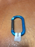 Rental store for CARABINER, ALUM MICRO STRAIGHT GATE-BLUE in Austin TX